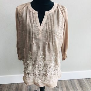 89th & Madison blouse embroidered top
